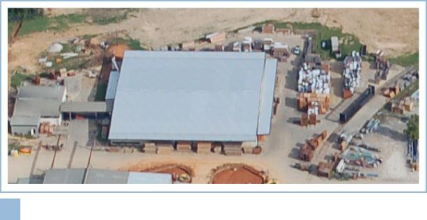 Aerial of Pineville, LA Plant Facility